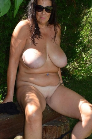 Old Pussy Outdoors